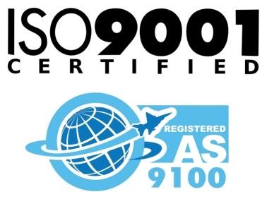 ISO 9001/AS 9100 Certified Logo