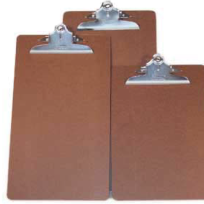 Composite Durable Brown Clipboards