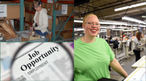 Photos of team members banner job opportunities